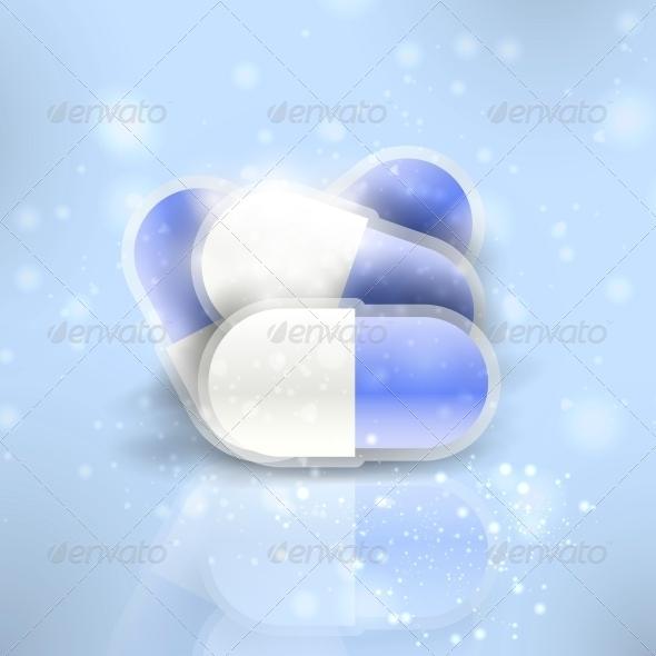 GraphicRiver Medical pills 3980007