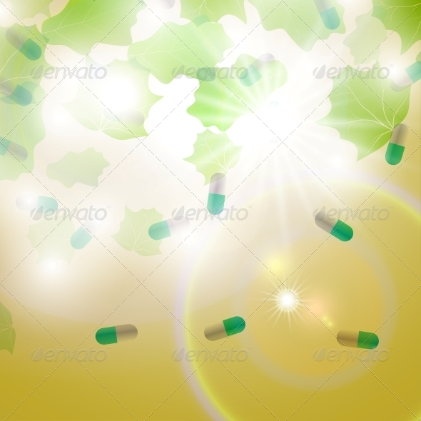 GraphicRiver Medical pill capsules 3980094