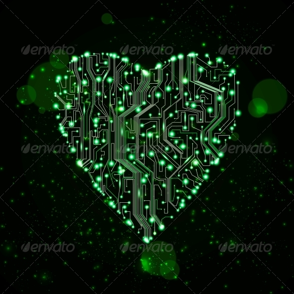 GraphicRiver circuit board vector background 3980101