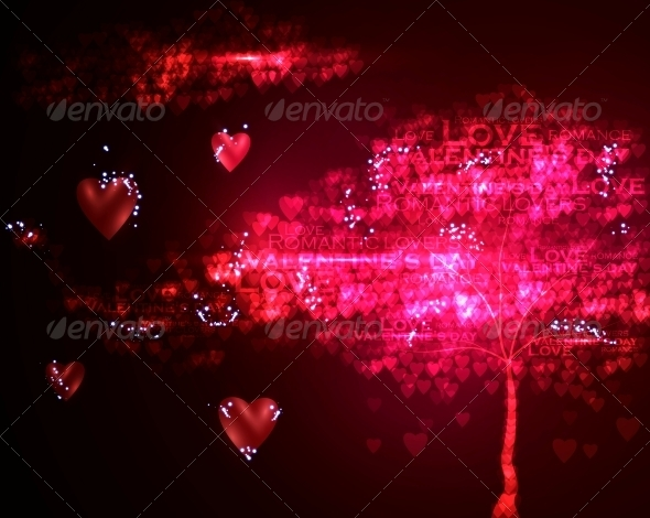 GraphicRiver Valentines Day Illustration 3980109