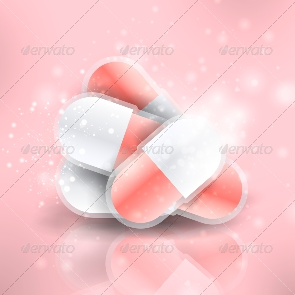GraphicRiver Medical Pills 3980132