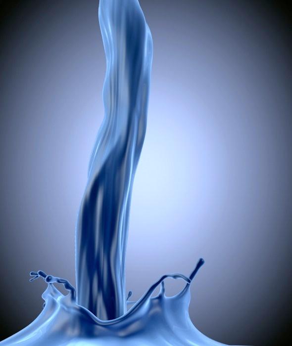 3DOcean Detailed Liquid Splash and Pour 3981428