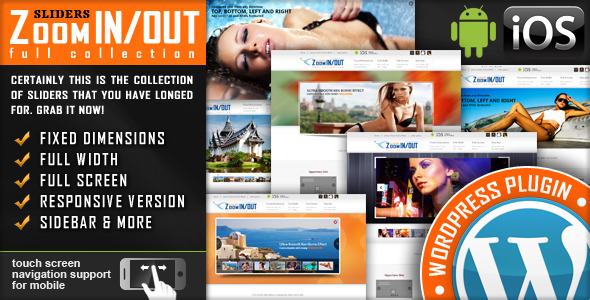 CodeCanyon Responsive Zoom In Out Slider WordPress Plugin 2950062