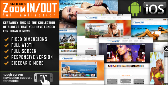 CodeCanyon jquery Slider Zoom In Out Effect Fully Responsive 2457203
