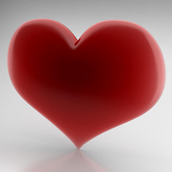 3DOcean Heart Icon 3982227