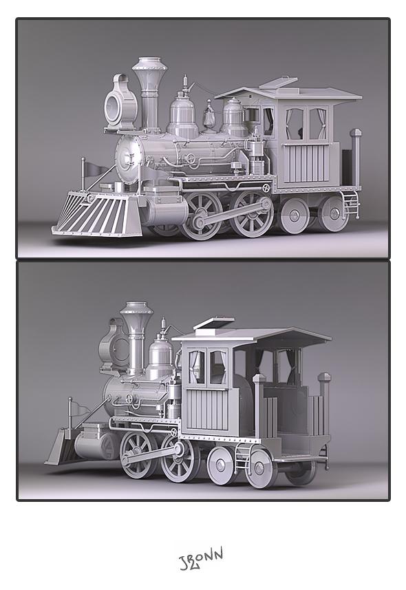 3DOcean Train 01 3983472