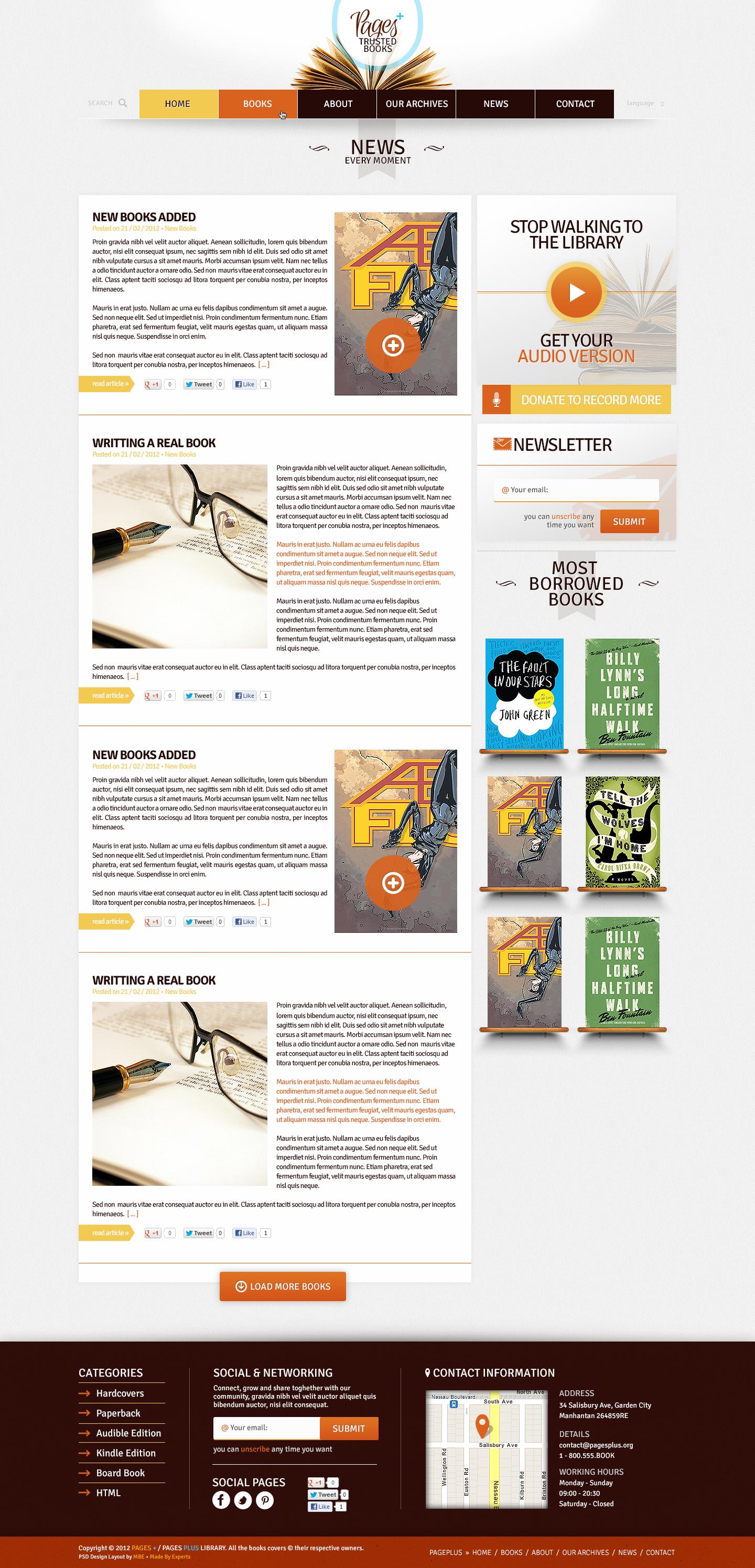 Pages Plus +