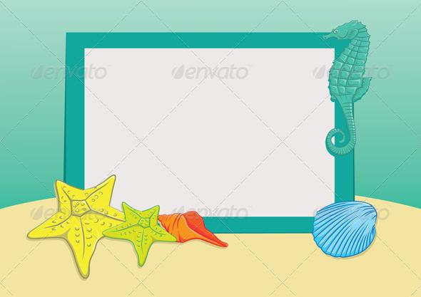 GraphicRiver Beach Frame 3983698