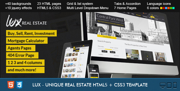 Calipso - Responsive Real Estate Theme