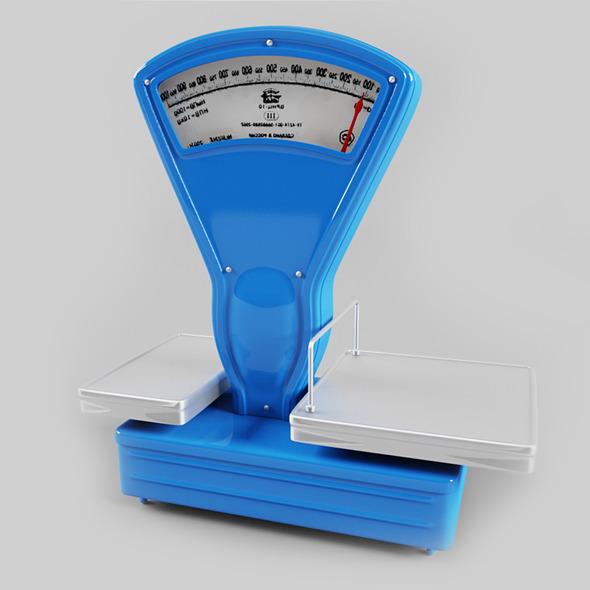 3DOcean Weighing-machine 3983739