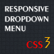 Responsive HTML5/CSS3 Dropdown Menu
