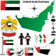 United Arab Emirates map - GraphicRiver Item for Sale