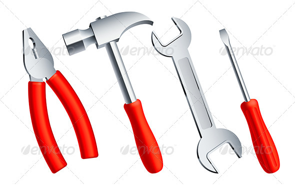 GraphicRiver Construction Tools 3983830