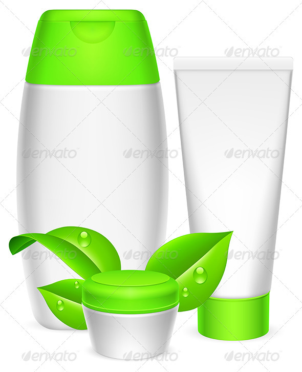 GraphicRiver Cosmetics Containers 3983835