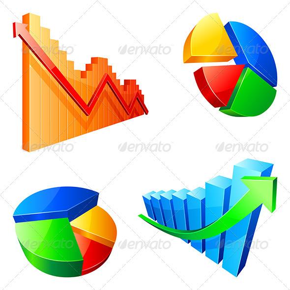 GraphicRiver Graphs 3983867