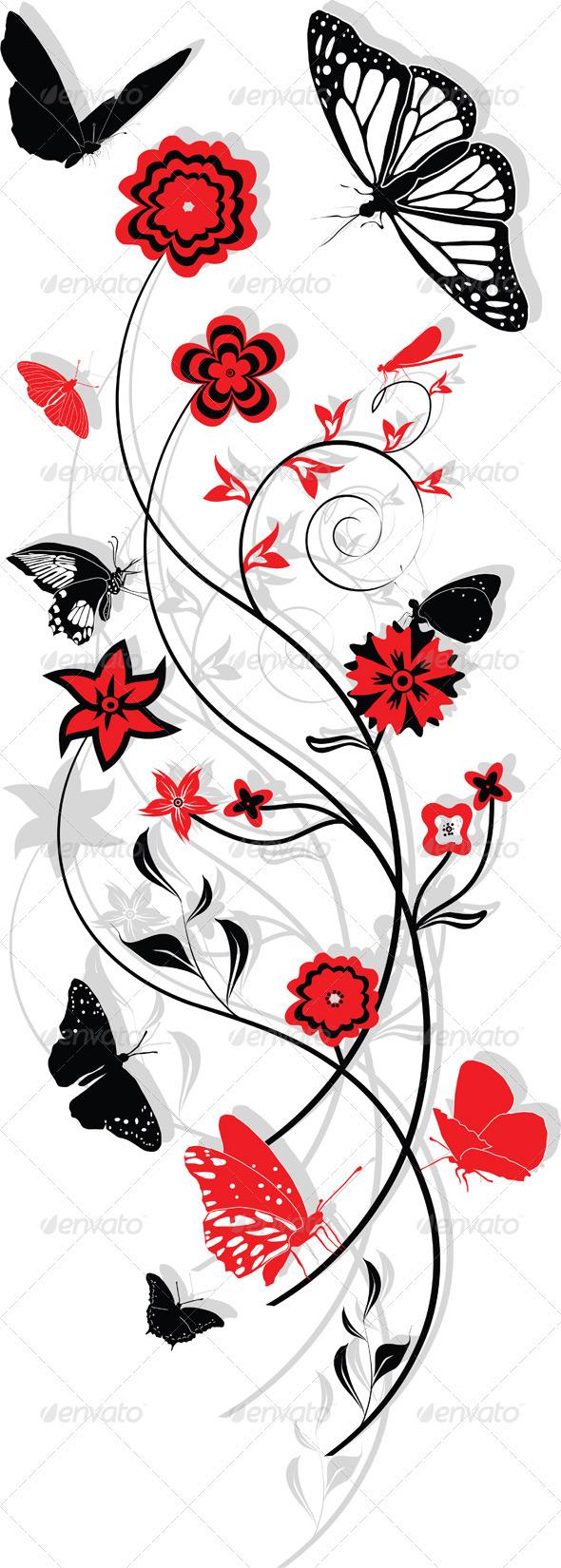 GraphicRiver Floral Ornament 3983983