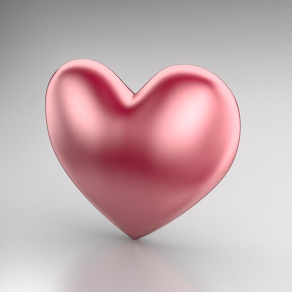 3DOcean Heart Icon 2 3984353
