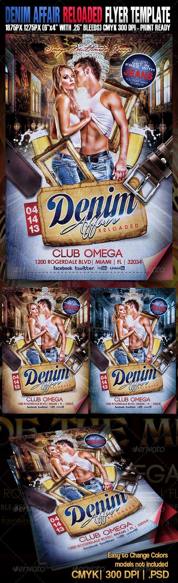 GraphicRiver Denim Affair Reloaded 3888890