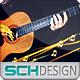 Guitar logo - VideoHive Item for Sale