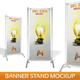 Banner Stand Mockup - GraphicRiver Item for Sale