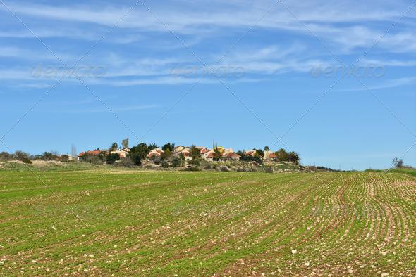 PhotoDune Israeli village 3985695