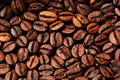 Roasted Coffee beans closeup background - PhotoDune Item for Sale
