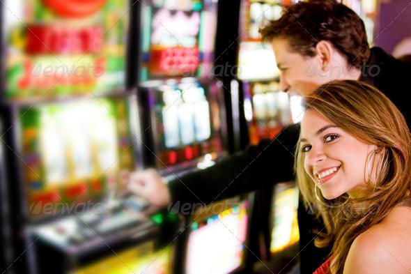 PhotoDune couple at the casino 430838