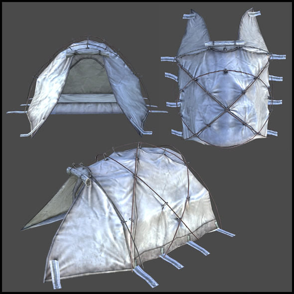 3DOcean Dome Tent 3986628