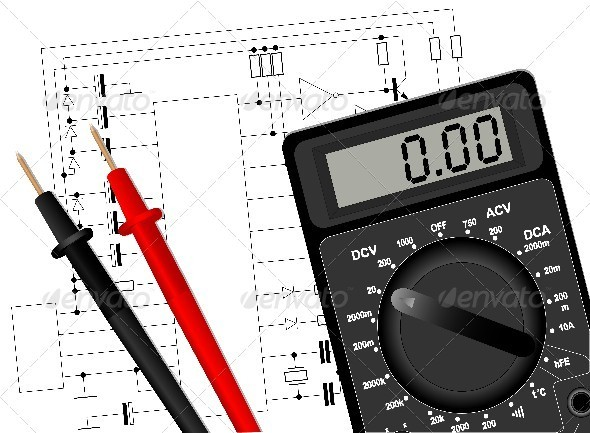 GraphicRiver Digital Multimeter 3923422