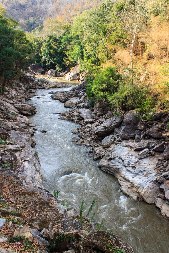 PhotoDune Op lung national park Chiangmai Thailand 3986928