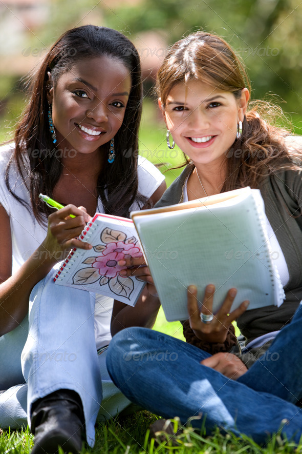 college students - Stock Photo - Images