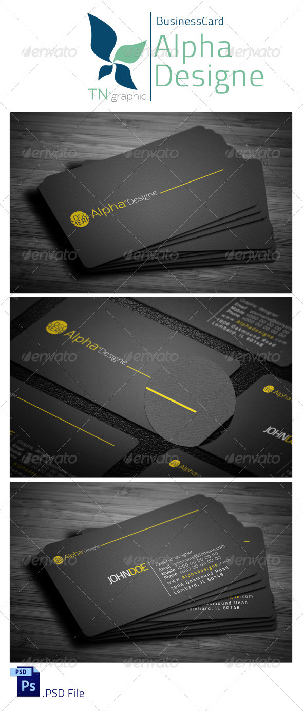 GraphicRiver Corporate Business Card 3987382