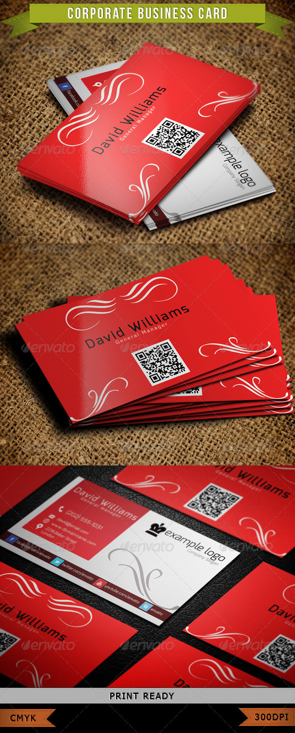GraphicRiver Corporate Business Card 003 3886554