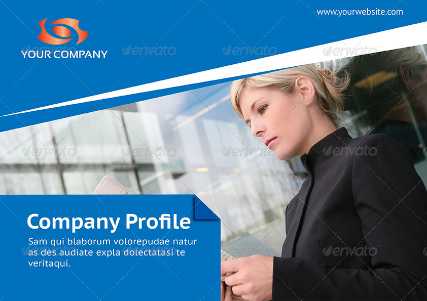 Multipurpose Company Profile Template by envatw – Corporate Profile Template