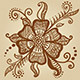 Flower for Henna Mehndi Tattoo  - GraphicRiver Item for Sale