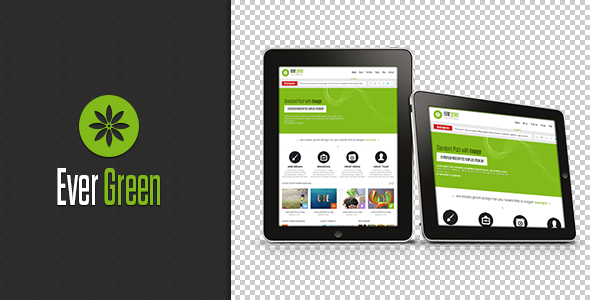 Evergreen - PSD Template