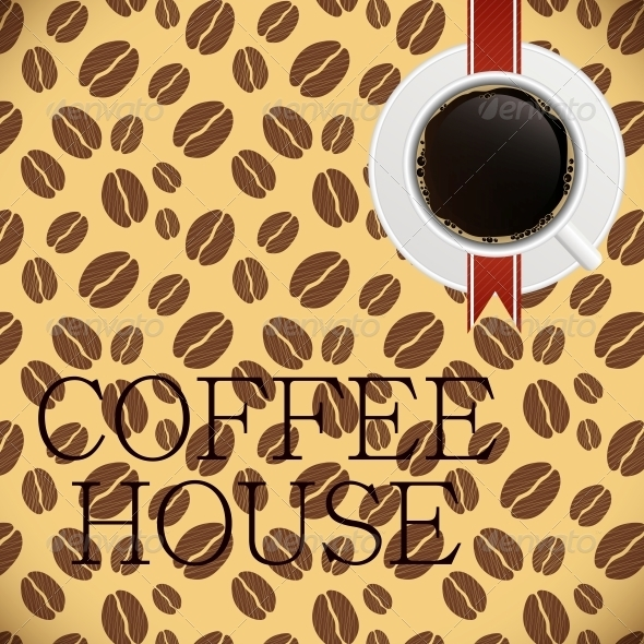 GraphicRiver Coffee house menu template vector illustration 3988140