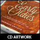 Old Skool Traditional CD Cover Artwork Template