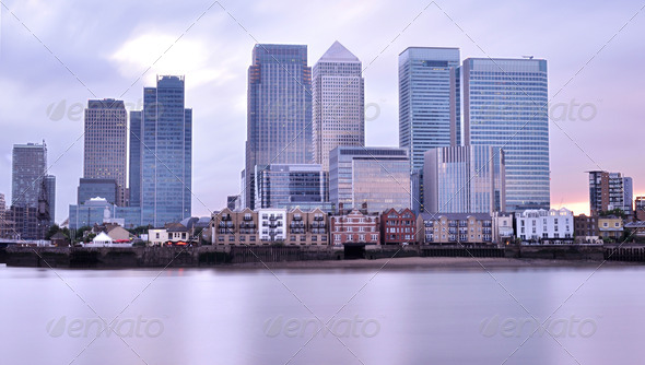 Canary Wharf - Stock Photo - Images