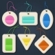Set of colorful bubbles, stickers, labels, tags. - GraphicRiver Item for Sale