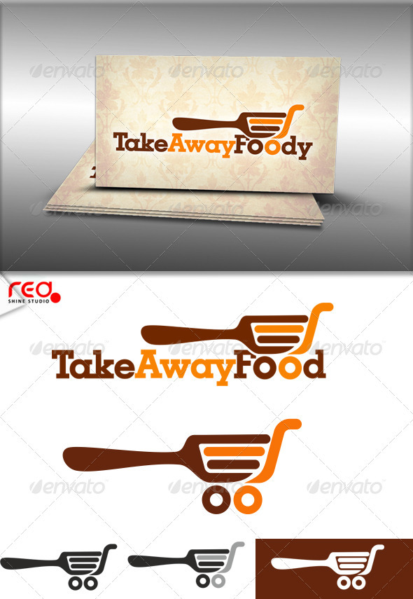 GraphicRiver Take Away Food Logo 3989979