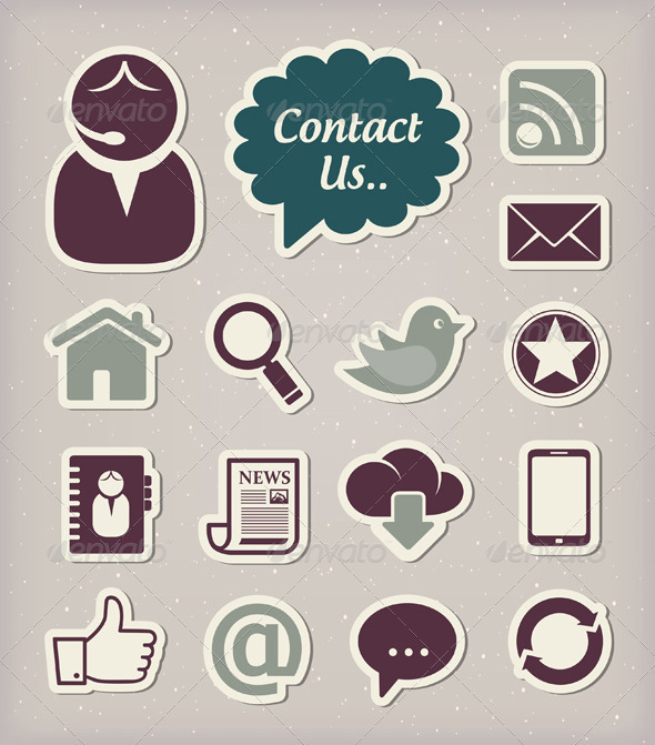 GraphicRiver Media Icons Set 3990050