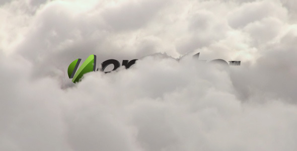 Clouds Logo 3D