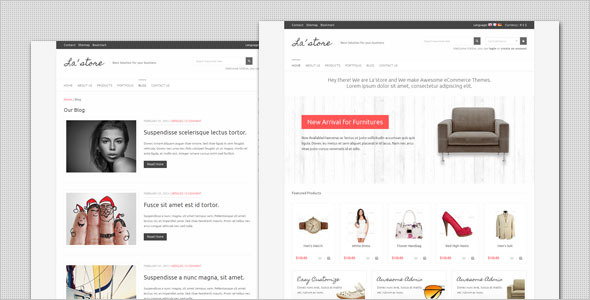 LA Store - Clean and Minimalist HTML Template