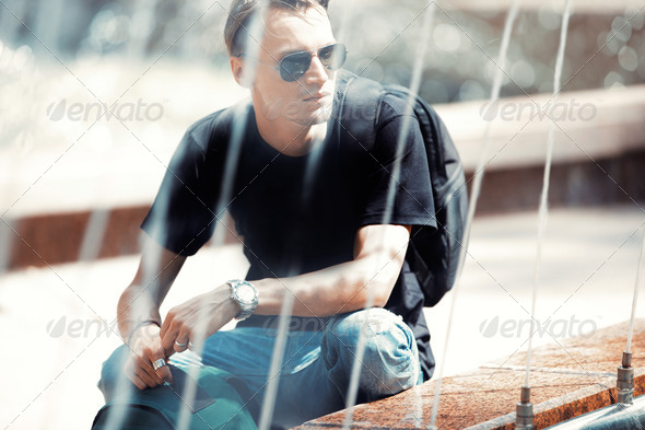 Traveler - Stock Photo - Images
