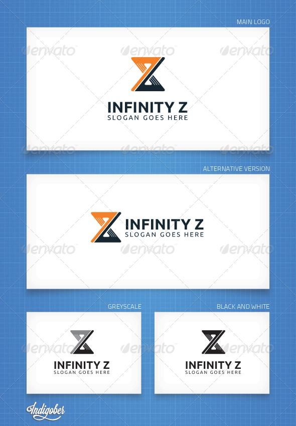 GraphicRiver Infinity Z Logo Template 3990539