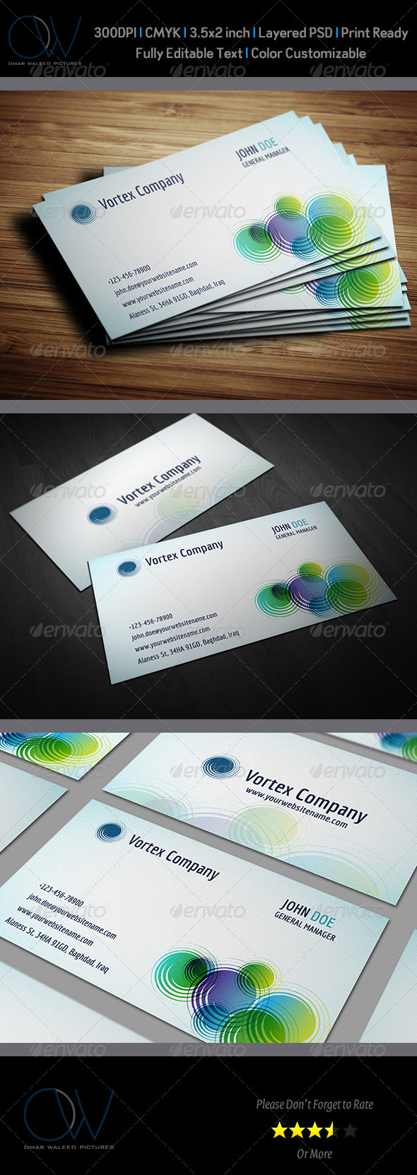 GraphicRiver Corporate Business Card Vol.17 3990682