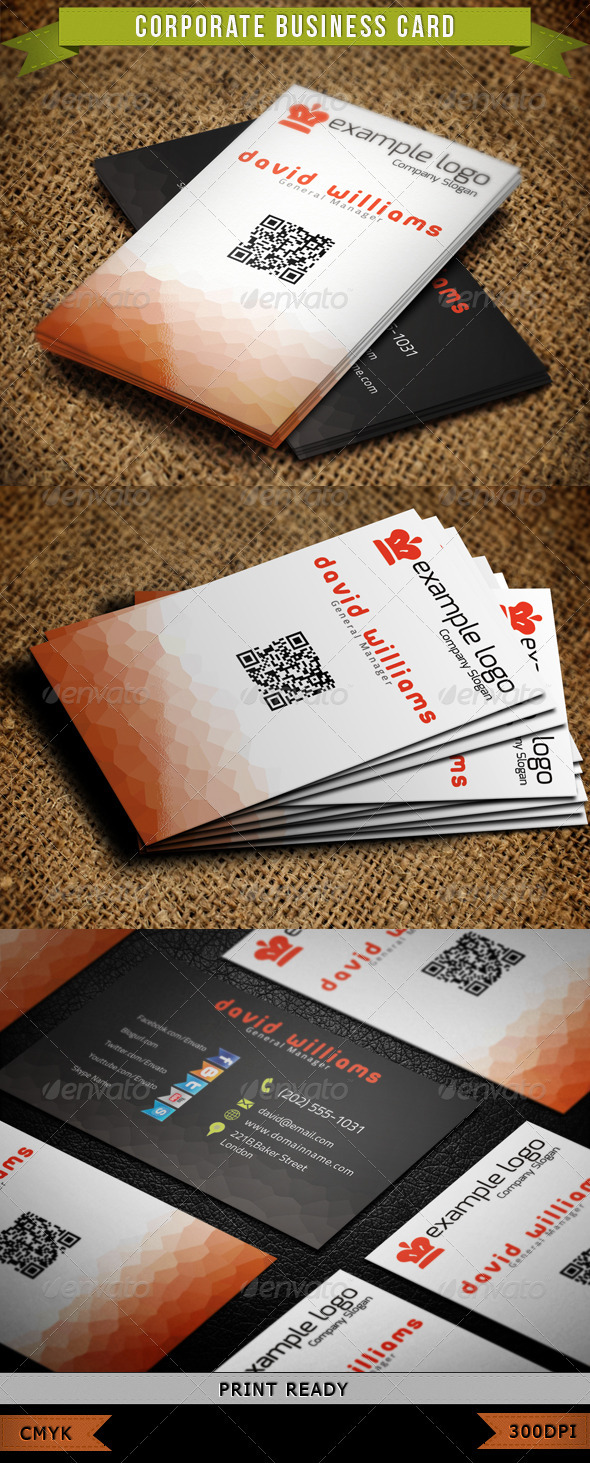 GraphicRiver Corporate Business Card 005 3892282