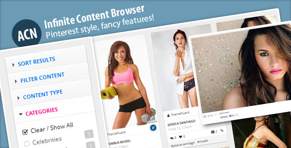 CodeCanyon Ajax Content Browser for WordPress 3974652