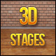 3D Stage Backgrounds - GraphicRiver Item for Sale